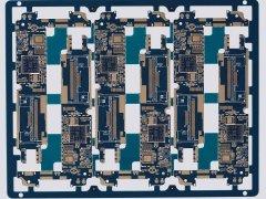 8层2阶HDI移动通讯板